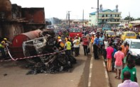 EJIGBO TANKER FIRE INCIDENT....MANY PROPERTIES AND LIFE SAVINGS LOST!