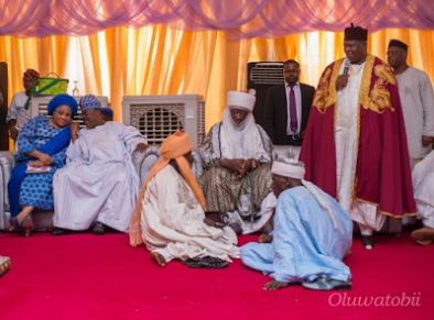 ODUMOSU FAMILY UNION AT OGBOMOSHO TO CELEBRATE WITH KABIYESI AND THEIR COUSINS