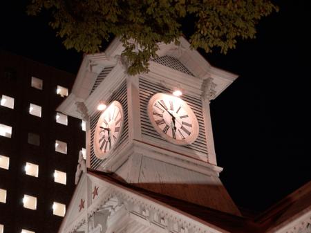 実物見たらがっかり時計台