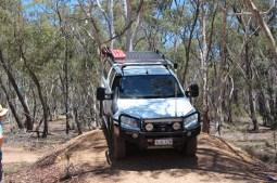 Chris 4WD Driver Training Braidwood - Introduction Hill