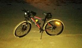 Bike ready to go before dawn