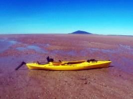 Kayak beached As