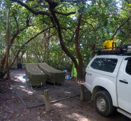 Noah Beach Campsite