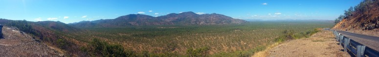 Some scenery on the way down from Cooktown