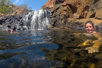 Swimming Edith Falls