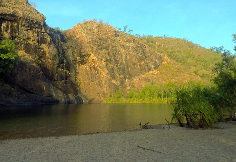 Gunlom Falls lagoon