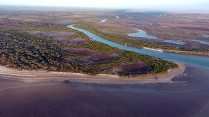 Croc infested Finniss River