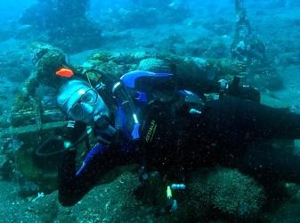 Underwater Lying Budda