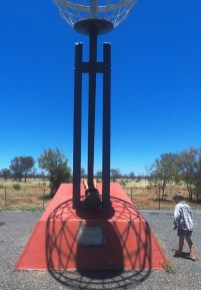 Tropic of Capricorn crosses the Stuart Highway little buggers wouldn't get away