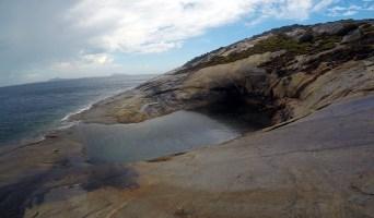 Island rockpool on Ben Island