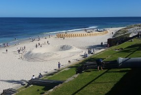 Sculpture by the sea, Cottesloe Beach