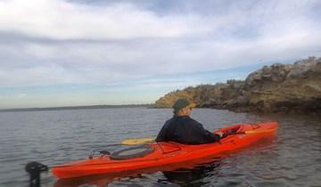 Kayaking through Pitt Water