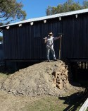 New Sheep Shed ramp