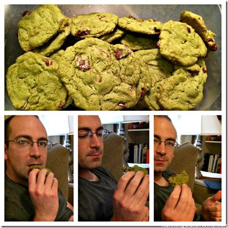 rob tries cookies