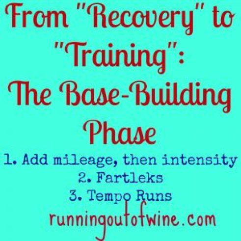 The Base-building Phase of Training