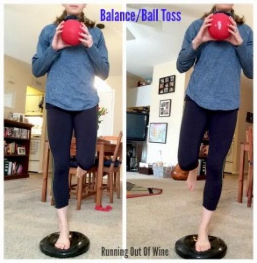 balance ball toss