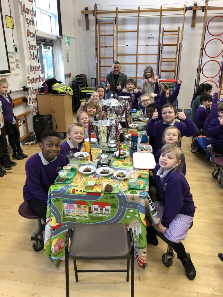 Golden Ticket Winners Lunch with Mr Allen. Monday 27th January 2020