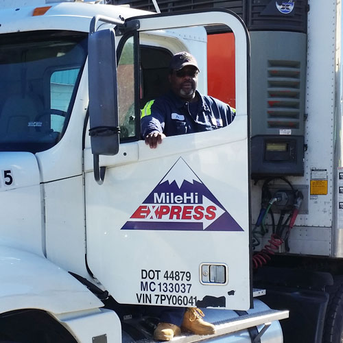 Truck Drivers Wanted at mile Hi Express Trucking Denver CO