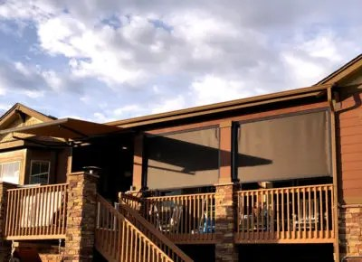 The Denver area's top provider of sales, installation, maintenance and repair of exterior solar screens, Mile High Shade offers attractive and practical ways to reduce heat and glare on your home, business or patio.