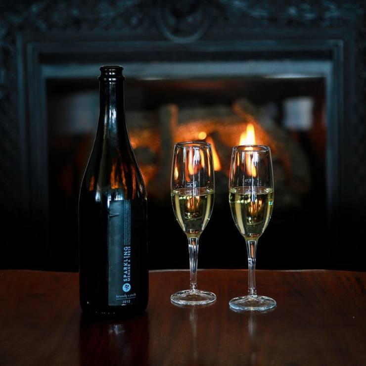 Winter Winery setting