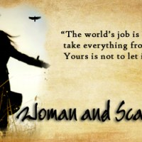 "Death Looms Larger Than Life in ""Woman and Scarecrow"""