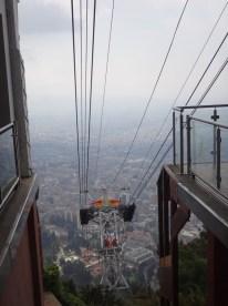 Cable car descending