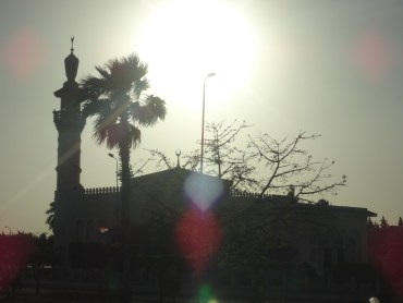 05 Mosque in the sunset