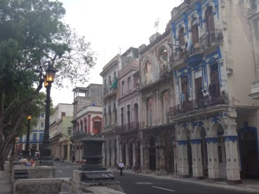 You can still see the stately wealth of Old Cuba