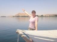 Stephanie the Nile tour guide