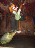 Gator chomping on Br'er Fox