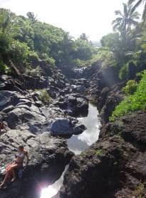 This stream feeds the Venus Pool