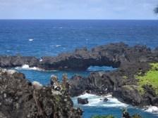 A natural sea arch
