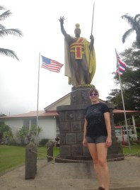 Stephanie and King Kamehameha III