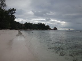 Anse Severe, a calm place once again.