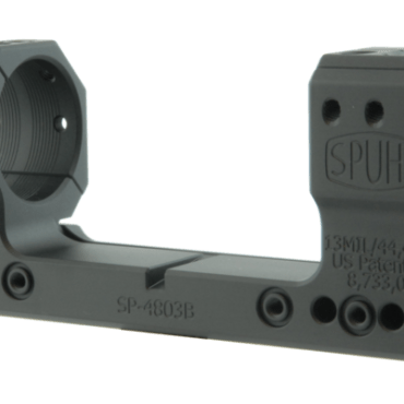 Spuhr SP-4803B: 34mm Picatinny Mount 13MIL/44.4MOA - 1.5""