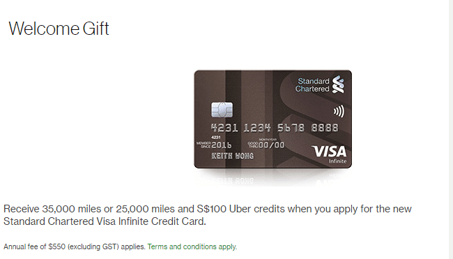 Standard chartered visa infinite buy miles at 17 cents the milelion sidetrack standard chartered keeps advertising the annual fee as s550 excluding gst someone needs to write to standard chartered and inform them that reheart Gallery