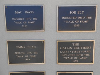 Lubbock wall of fame 2