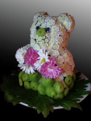 Мече-от-цветя