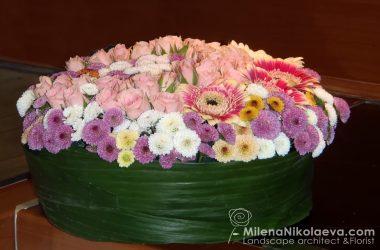 Цветна торта