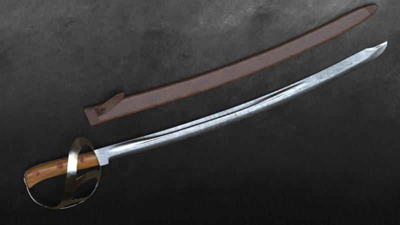 Senjata tradisional khas Minang Klewang