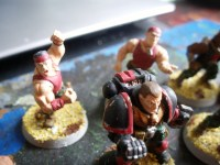 Marines Espaciales - Blood Bowl
