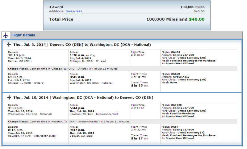 Notice that some of these flights are booking into the 'XN' fare code. These are awards seats reserved for United Elites, or Milenomics BYOE's with United CC's.