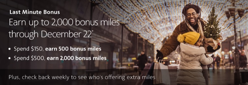 airline portal holiday bonuses