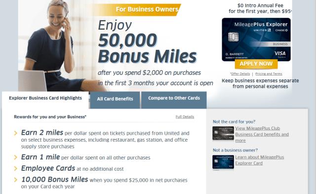 50k bonus united business card mileopedia 2015 09 15 173540 business card 50000 bonus miles with no annual fee colourmoves