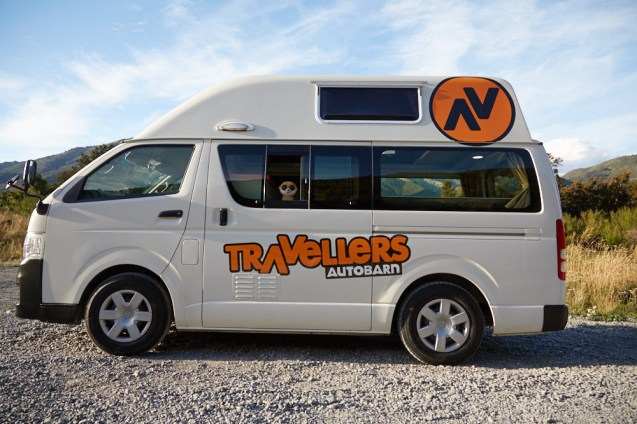 Traveller Autobarns, Auto, Campervan, Ed, Ed is back, Roadtrip, camping, Rundreise, Urlaub, Neuseeland, Südinsel, Miles and Shores