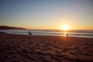 Sonnenuntergang, Miles and Shores, Punakaiki, Strand, Green Flash, Meer, Sonne, Untergang, schoen, entspannend, Urlaub, Urlaubsstimmung