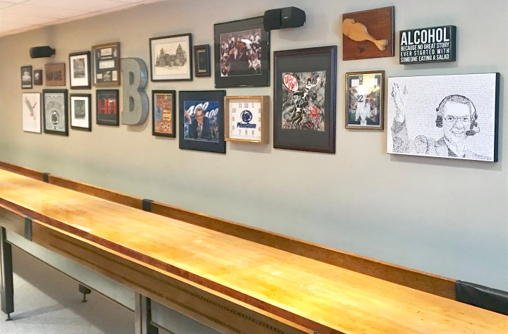 Man Cave | Basement Gallery Wall
