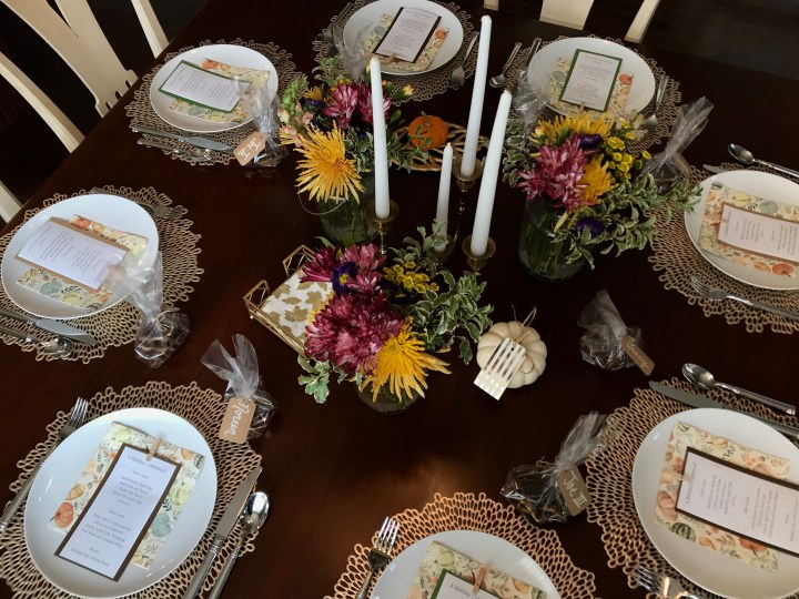 A Special Birthday Tablescape