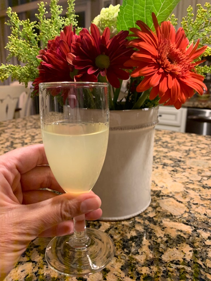 Recipe Recap: Homemade Limoncello