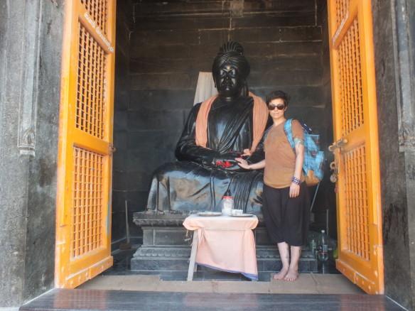 in Kanyakumari, India, at the Swami Vivekananda memorial